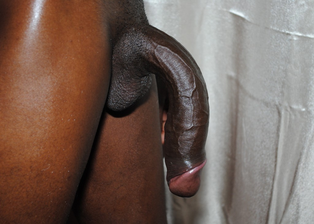 limp black cock is fucking huge