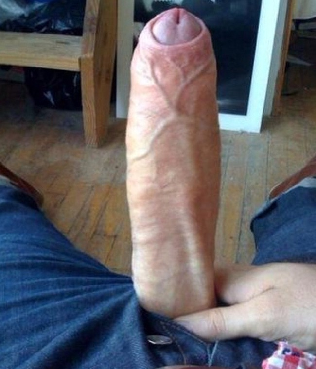 Big White Cock Surprise