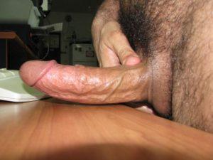nice sized hard prick