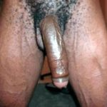 long hanging uncircumcized black penis