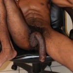long black dick hanging low